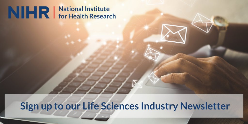 Working in the pharmaceutical, MedTech or life sciences industry? Sign up for our industry newsletter to find out more about the various ways that we can support your work as a research partner: https://t.co/0mwGt8R8L9 https://t.co/ChCST5d5PY