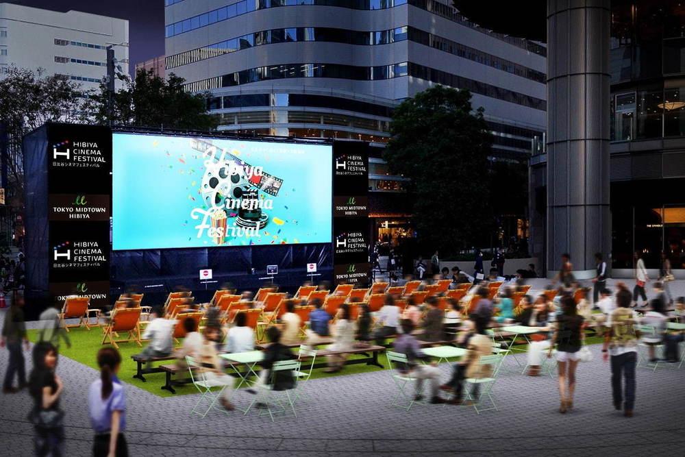 「日比谷シネマフェスティバル」東京ミッドタウン日比谷で、『ローマの休日』など往年の名作を屋外上映 -