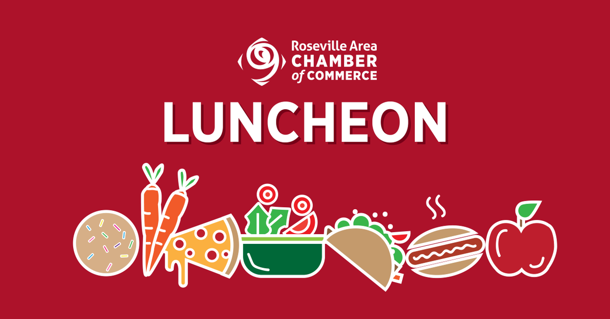 Tomorrow, join us for our Virtual Chamber Luncheon with a presentation from Laura Matteoli, @CityofRoseville Economic Development Director (https://t.co/D132TyaqfH). While watching, order takeout/delivery from one of our amazing and open restaurants (https://t.co/HTcRl0e8Sl). https://t.co/nGjHo6DLIn