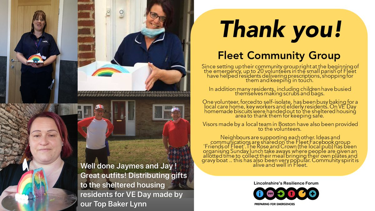 We would like to extend a big Thank You to everyone who has volunteered their time to help others during the Covid-19 pandemic, your support has been invaluable.   Thank You Fleet Community Group! https://t.co/pk5zNvcuKY