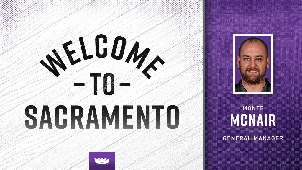 Kings Name Monte McNair General Manager » https://t.co/PS2dSegp6H https://t.co/imD6IJqyVC