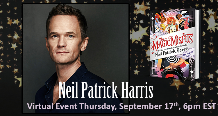 Last chance for tickets! Dont miss our magical event with @ActuallyNPH, moderated by @wimpykid, tonight at 6pm EST. Tickets available at anunlikelystory.com/event/NPH