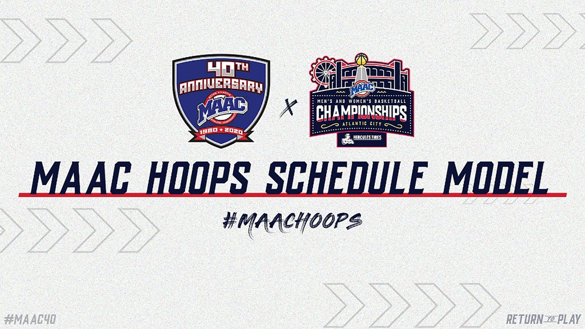 🔑 𝐀𝐋𝐄𝐑𝐓  @MAACSports Announces 2⃣0⃣2⃣0⃣-2⃣1⃣ @MAACHoops Schedule Model   @NCAA Basketball Start Date Set For Nov. 25, 𝐅𝐔𝐋𝐋 2⃣0⃣-Game #MAACHoops Slate Tips Off Week of Dec. 7  📰 https://t.co/OcWSlTudxp  #MarchOn #SienaSaints #NCAAM #NCAAW https://t.co/ScXTkERYTR
