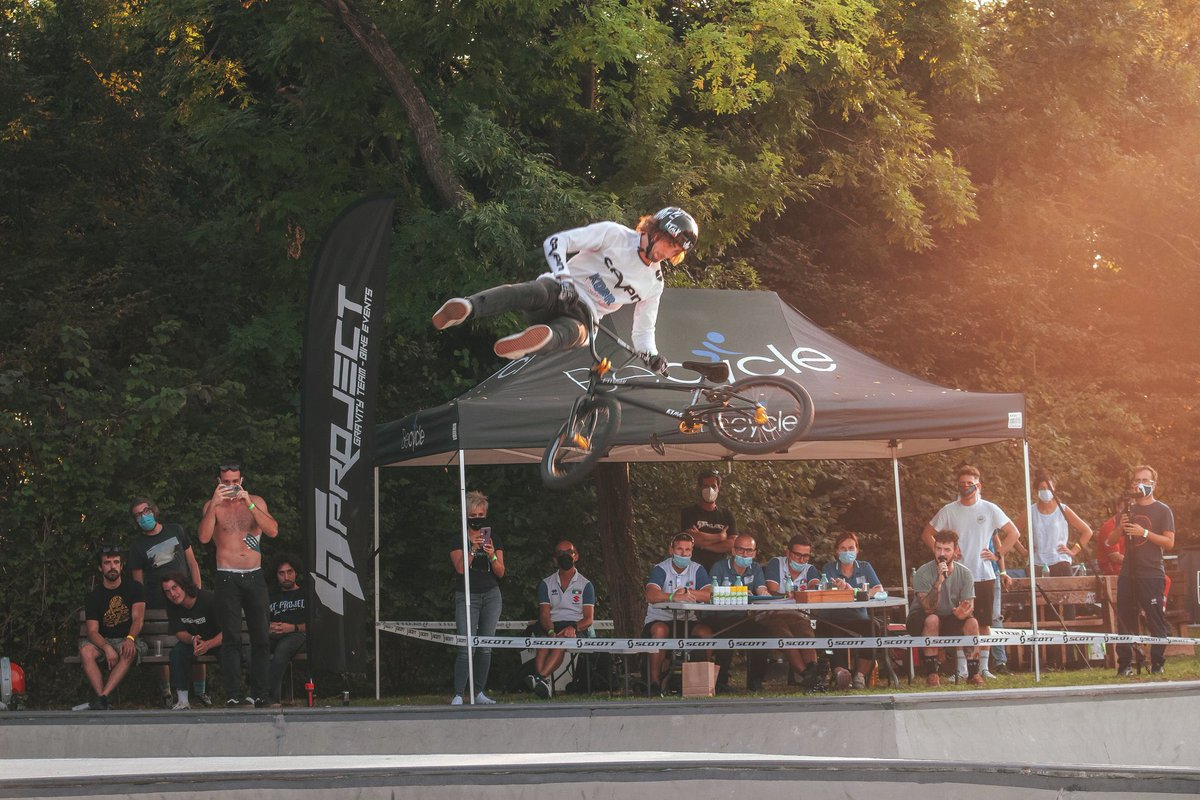 The Italian BMX Park Championships took place last weekend with social distancing, sanitizing and mouth masks in mind. Check the results on the https://t.co/uTmURMp2FM website. Hit up the BMX Freestyle section. 📸: By Tommaso Vian https://t.co/C1Fa8Ws3gj