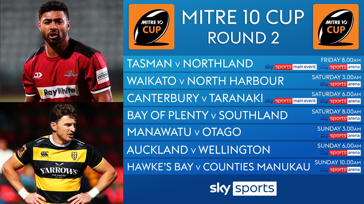 test Twitter Media - Plenty of All Blacks on show as the #Mitre10Cup continues this weekend... 🇳🇿  Beauden Barrett's Taranaki challenge Richie Mo'unga's Canterbury for the Ranfurly Shield on Saturday. https://t.co/wfi06eVtaY