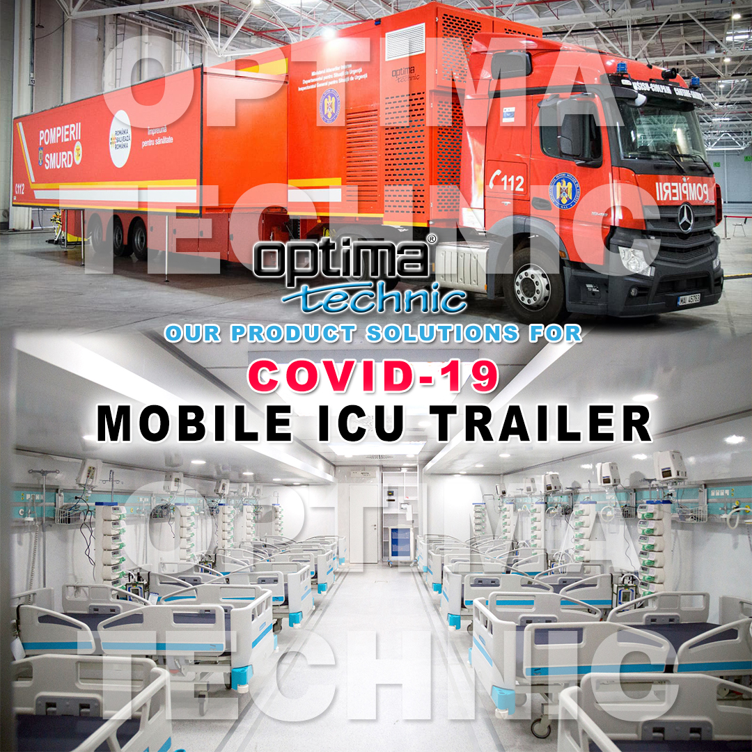 Optima Technic Co. is designing and manufacturing project based Mobile Hospital Solutions, Field Hospital Solutions to give service and under control of Pandemic Situation...  #madeinturkey #mobilehospital #optimatechnic #mobileclinics #fieldhospital #intensivecareunit #covid19 https://t.co/5eHbJ2AXcB