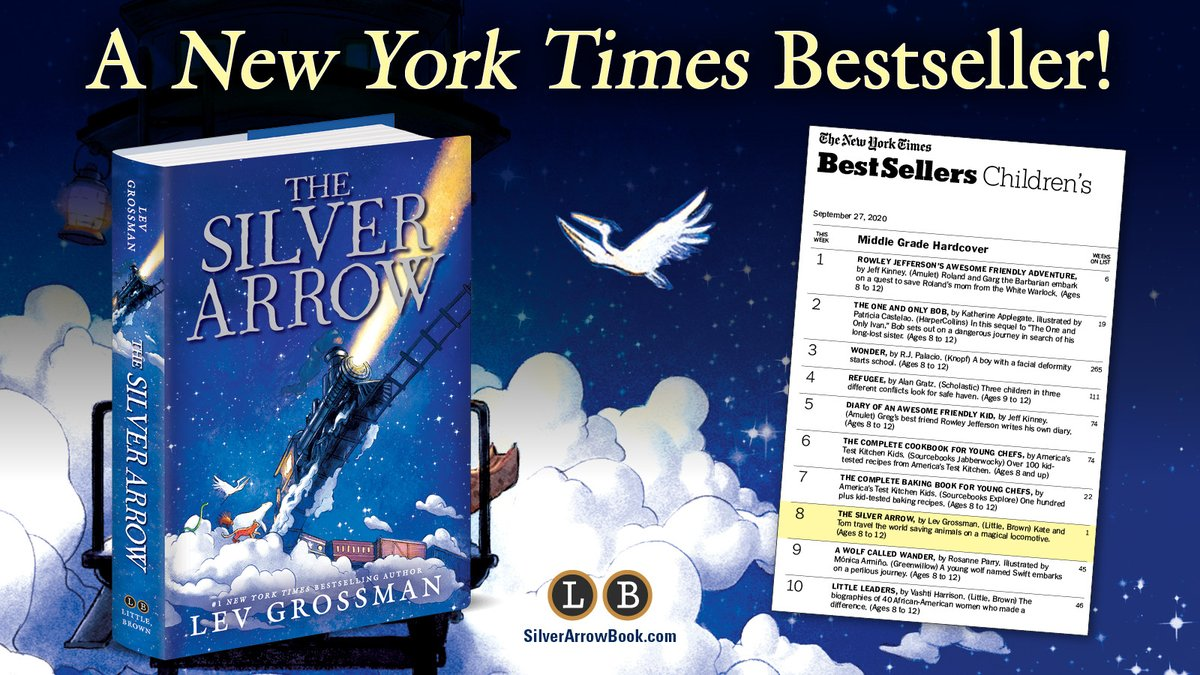 Congratulations to @leverus and THE SILVER ARROW! 🎉 https://t.co/5AINY0DpX6