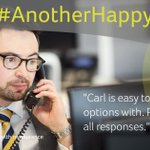"Image for the Tweet beginning: #AnotherHappyClient:""Carl is easy to discuss"
