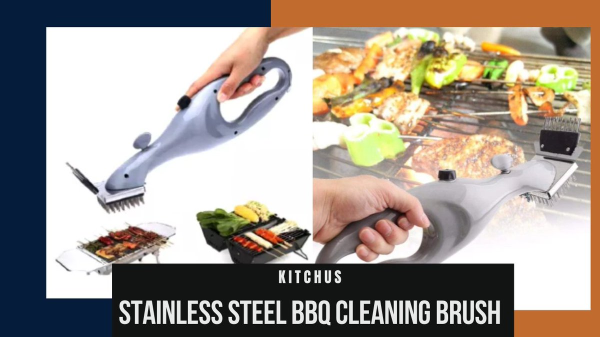 Introducing Every Griller's Favorite Grill Brush by KITCHUS  A great grill deserves a great cleaning tool, like this Grill that cleans with steam without the need to dip the brush in water repeatedly.  #backyardbbq #foodie #grillbrush  #biggrill​ ​#smoker​  #kitchentools #cooking https://t.co/jIfG7KaxWx