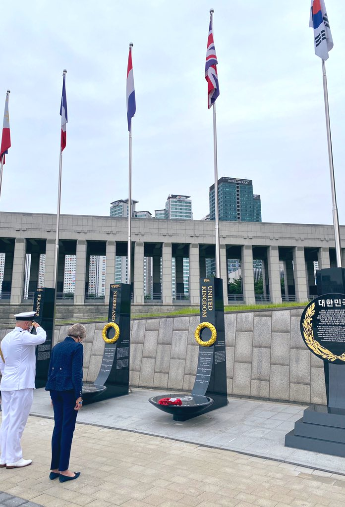 It was also an honour to pay tribute to the 80,000 British soldiers who fought for the freedom of the Korean people, including the 1,108 who lost their lives. In this 70th anniversary year, we must ensure that this bloody conflict does not truly become a forgotten war.