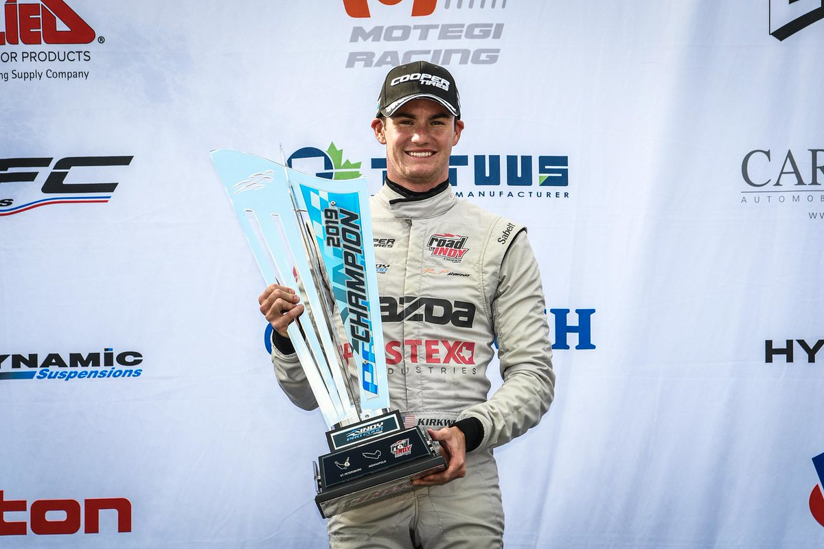 Throwing it back one year - and the second straight #RoadToIndy championship title for @KKirkwoodRacing.   We look forward to seeing Kyle in @IndyLights in 2021!  #tbt l #TeamCooperTire https://t.co/Sapr0lO3cP