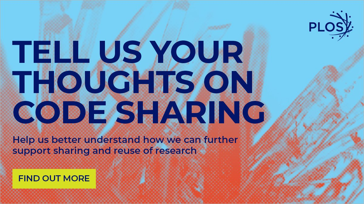 We are exploring how we can further support sharing and reuse of research. We invite you to take a 5-min survey on your needs and experiences with respect to sharing computer code generated during your research. https://t.co/8pHyLzUQse https://t.co/Feh2r6souD