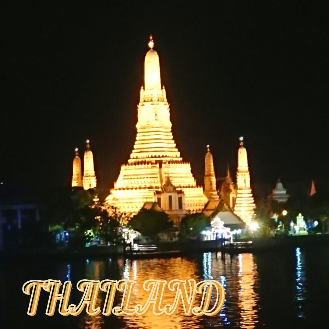 test ツイッターメディア - 【大阪支部メンバー旅の思い出】  タイはバンコクにあるワットアルン🇹🇭 タイの通貨である10バーツにも描かれている寺院なんです。ホテルの部屋から見えるなんて、なんてラッキーなんや!どしゃ降りの次の日にはかんかん照りになってくれたし恵まれすぎてる!  #オオサカシブノタビ #タイ旅行 https://t.co/jepk4nYDQ3