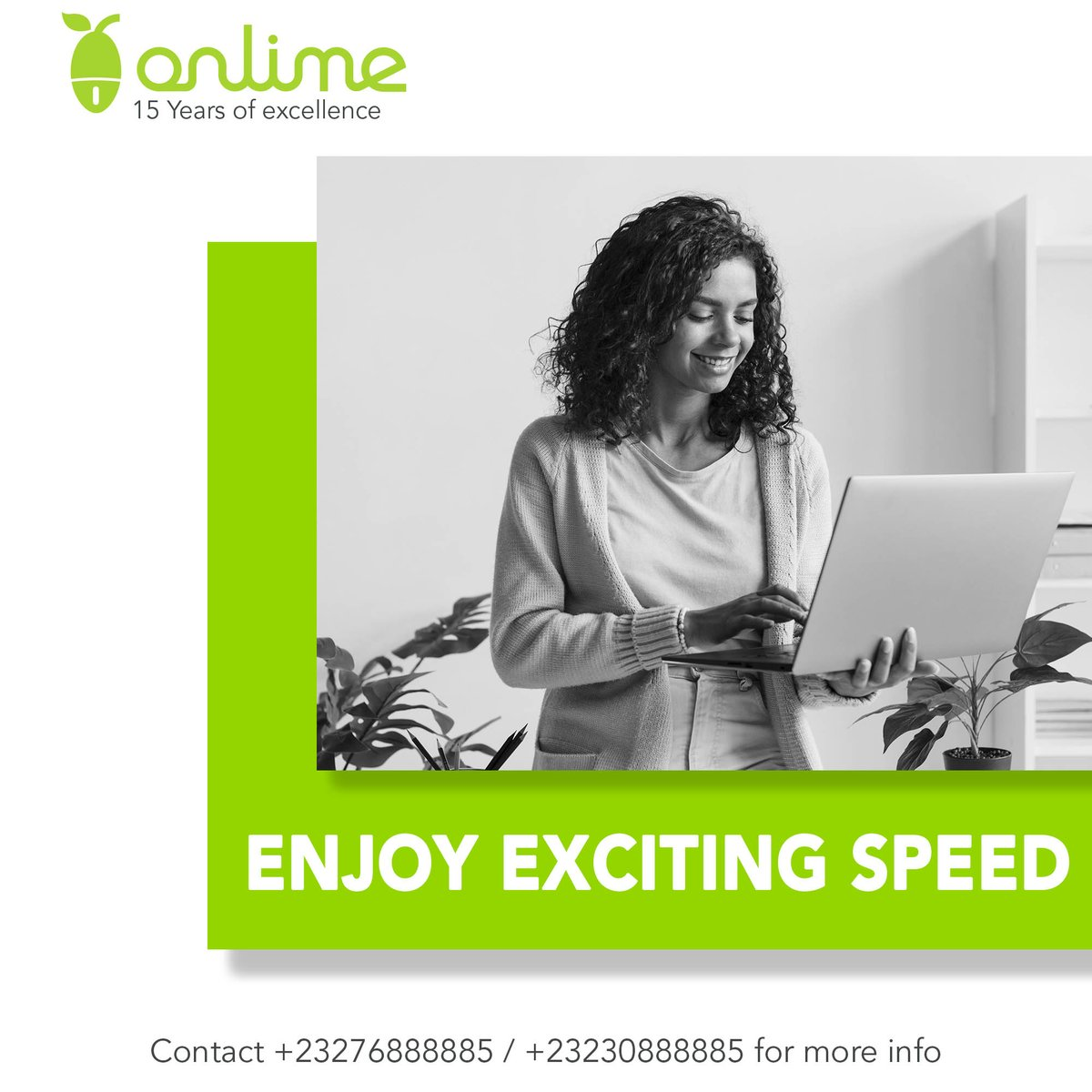 Keep your need for high speed Wi-Fi always satisfied with #OnlimeInternet. Call 076 888885 / 030 888885 or email sales@onlime.sl for more info. #SierraLeone #SaloneTwitter #Freetown https://t.co/9ufF25ZMI0