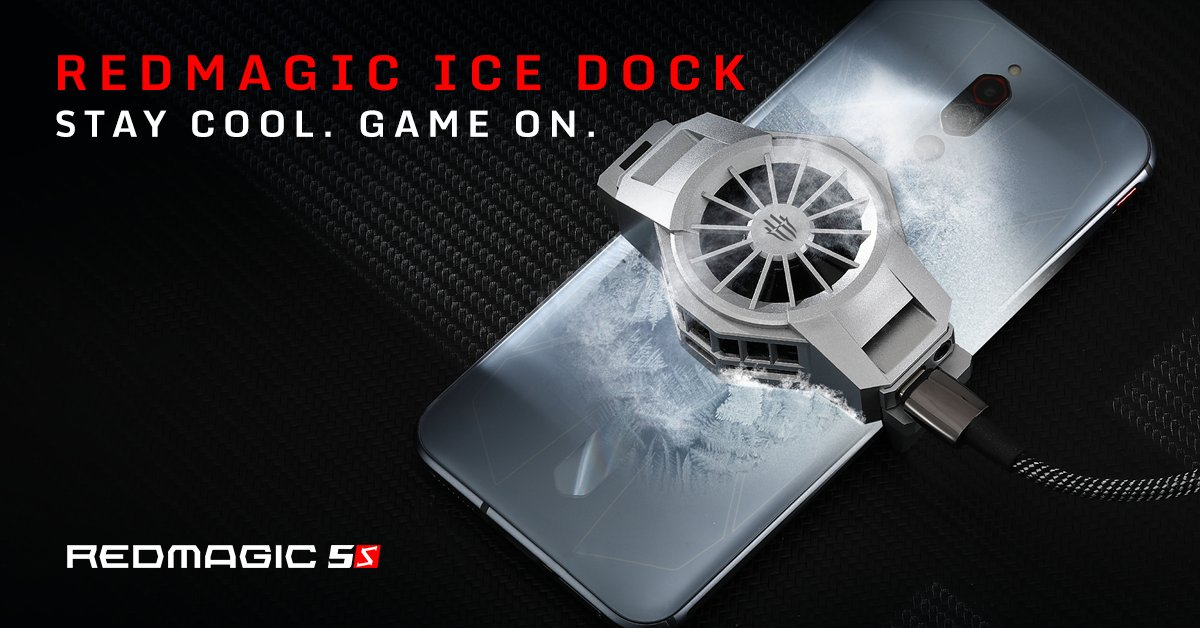 The RedMagic 5S is the coolest phone of the year.Keeping you cool longer, so you can play to the max longer the rest. Check it out for yourself here: https://t.co/FdGn1CUZKt https://t.co/izTFRz4e2t