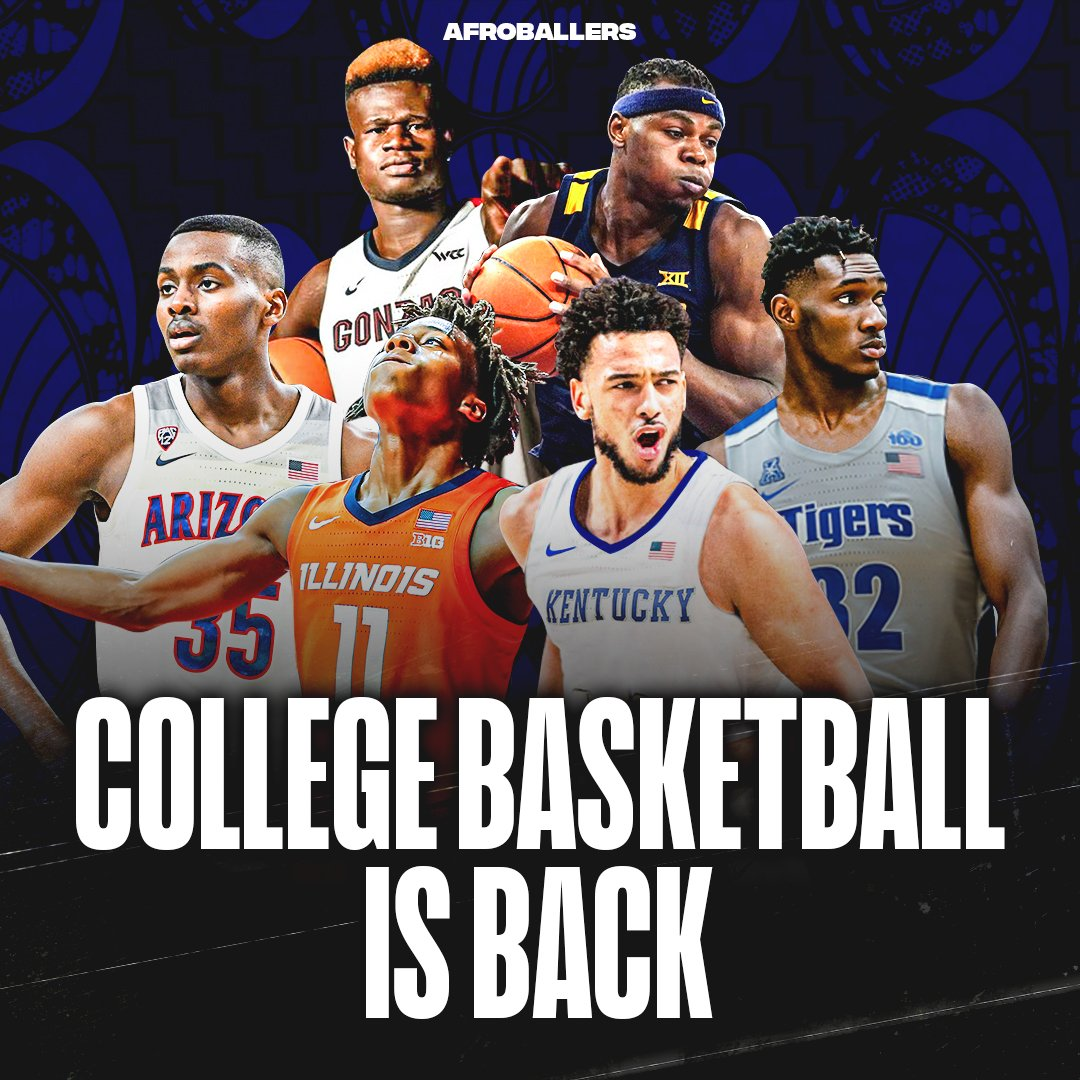 College Basketball is officially BACK‼  The NCAA season starts November 25th. Which AfroBaller are you looking  forward to watching this season⁉️ https://t.co/qHs5YJtPaQ