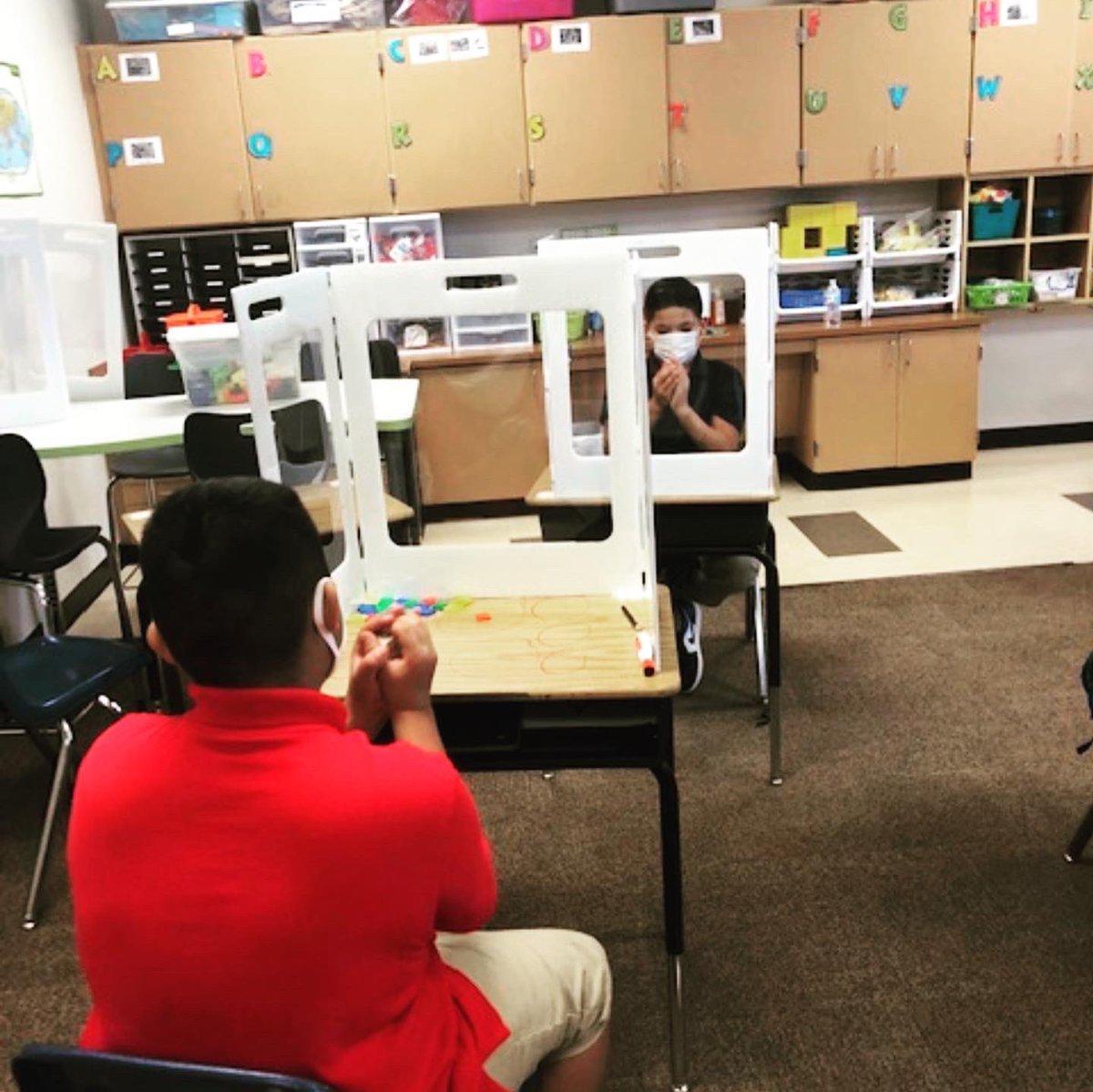 Socially distanced math games in 5th grade!! ❤️🐯 #wearemcstrick #tigerpride #cfbisd