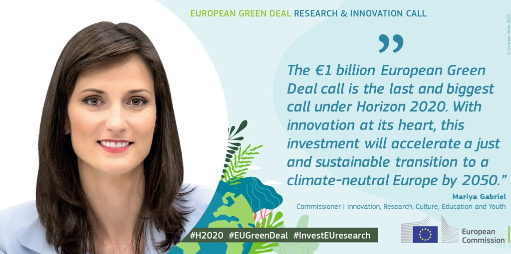 With the #EUGreenDeal call, we are not only tackling grand challenges such as the #ClimateEmergency & post #COVID19 recovery.  We are also aiming to improve the quality of our everyday life!  https://t.co/KzcgOimql4  #ResearchImpactEU https://t.co/DzxA9ngE9N