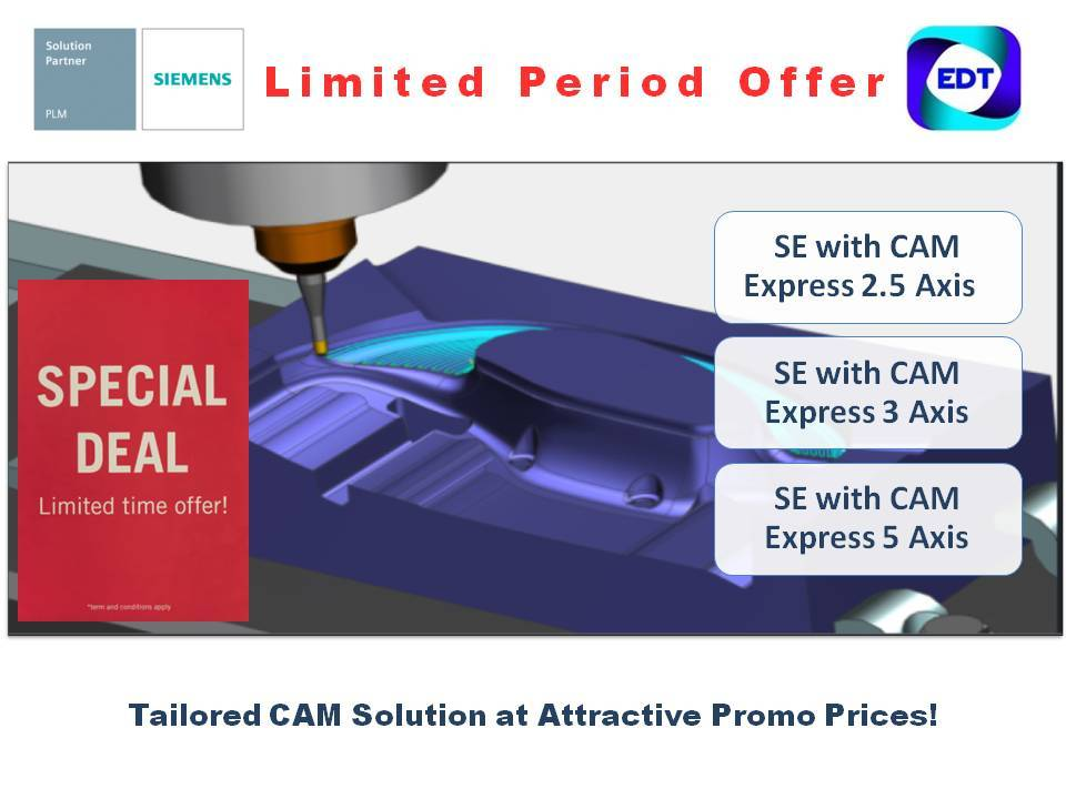 Solid Edge CAM Pro Bonanza!!  This promotion can't be miss. Contact to know more.  https://t.co/f8AP1g6QhD  #SolidEdge #CAM #CAD #SpecialOffers #Buy1Get1 #BOGO #Manufacturing #TodayMeetsTomorrow #LatestTechnology #MakeInIndia https://t.co/vRdo3tH7Ki