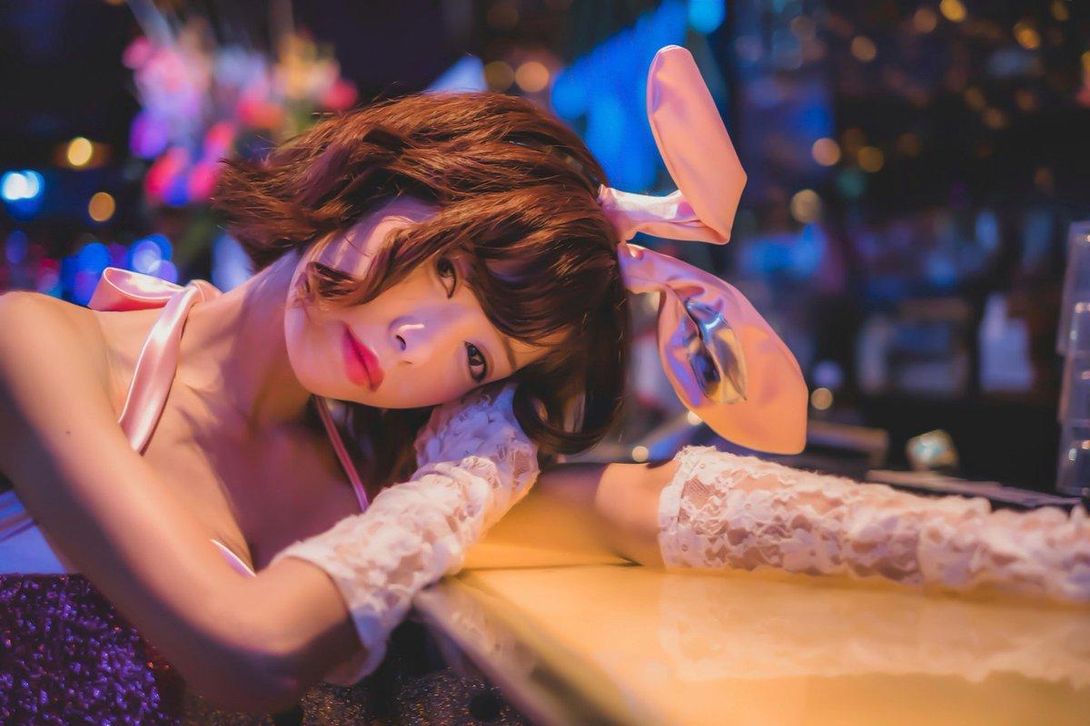 .そりゃバニーの方がいいよね💦ごめんねえぇぇぇ🐰.  .˚‧º·(ฅдฅ。)‧º·˚...ア〇フェスも無観客発表だし最近メンタルぴえんすぎる。。..#バニーガール#撮影会 #モデル#bar #club #rabbit