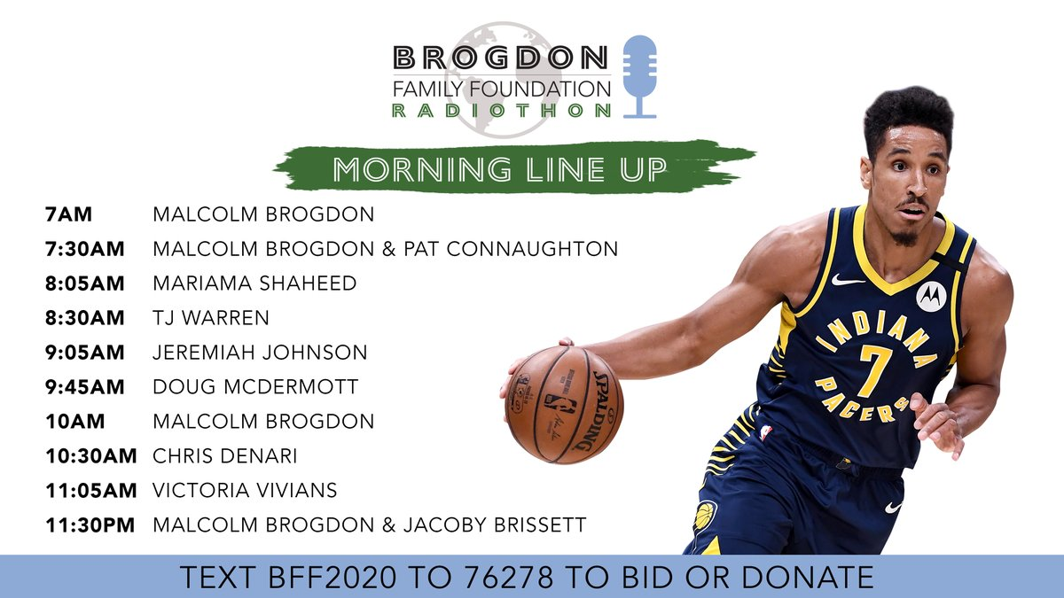 Radiothon day! We're on @1075thefan 7am-6pm today promoting the JHA Education Project, which benefits students in underserved communities and @IPSSchools. Check out our morning line up and be sure to visit our silent auction before it closes!  https://t.co/puLFVuKx8w https://t.co/cR4vIuay8m
