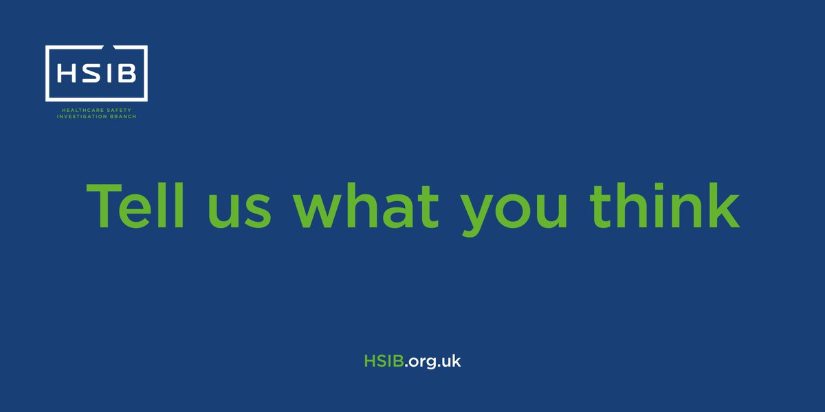 Thank you to everyone who's joined us for the #HSIBseminar to mark #WorldPatientSafetyDay. If you were there, please let us know what you thought about the event by sparing a few minutes to complete the online feedback form >> https://t.co/IeEo9dNxAs https://t.co/1wkc63T9Xa