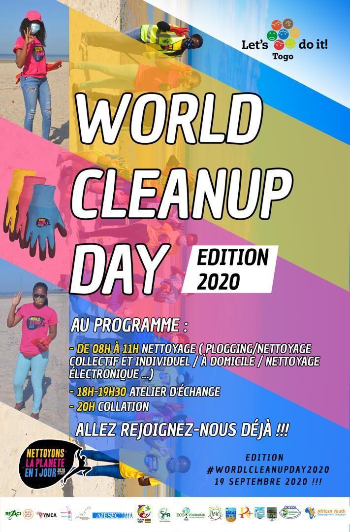 WCUD2020  Le World Clean Up Day 2020, C'est bien dans 02 jours....😳  Nous espérons que vous balais sont déjà posés dans un coin de votre maison 😉😉😉😉, en attendant le coup d'envoi avec @ucjgtogo @TogoPnd  #WCUD2020 #ODD13 #ODD14 #ODD15 #Youth4GG #AIESECinTogo https://t.co/5M44xRG2RU