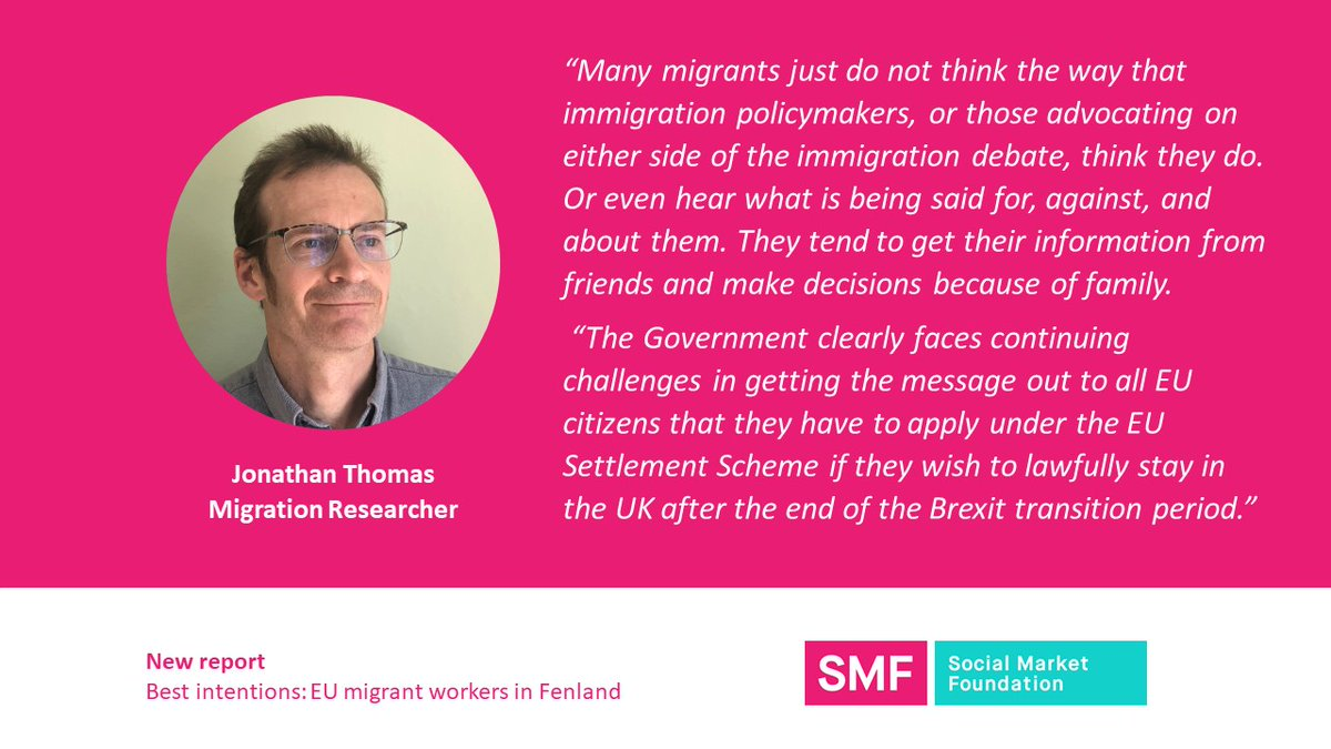 Parties on all sides of the immigration debate can be quick to voice the thoughts & feelings of migrants without detailed evidence.   Our findings show politics is unlikely to drive migrants away, but on the flip side it won't dissuade migrants from living and working in the UK. https://t.co/ASeriZZ7DS