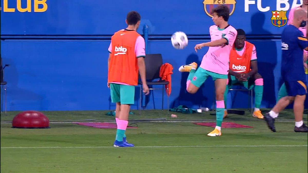 Replying to @FCBarcelona: ✨ @Pedri & @RiquiPuig ✨