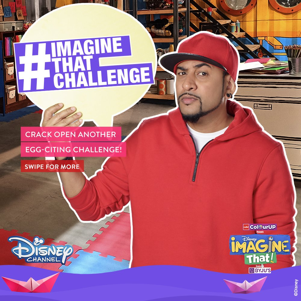 Scramble through ideas, whisk your imagination, and plate up your creativity! 🥚 Participate in week 2 of Cello Writing #ImagineThatChallenge and serve your fresh designs to @DisneyIndia and Rob. Remember, amazing ColourUP Kits are up for grabs! 💙