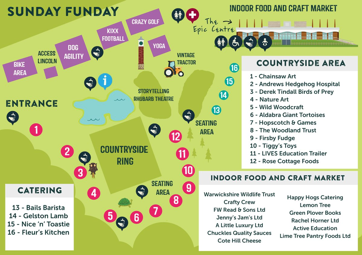 There's only 2 days to go until Sunday Funday! 🌈🌤  We have lots of activities going on throughout the day to keep the whole family entertained 👇   🎟Tickets are still available and must be booked in advance -  https://t.co/UUxMCjmz0g https://t.co/xIK7nSFOJ5