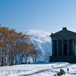 Image for the Tweet beginning: Temple of Garni, Kotayk province,