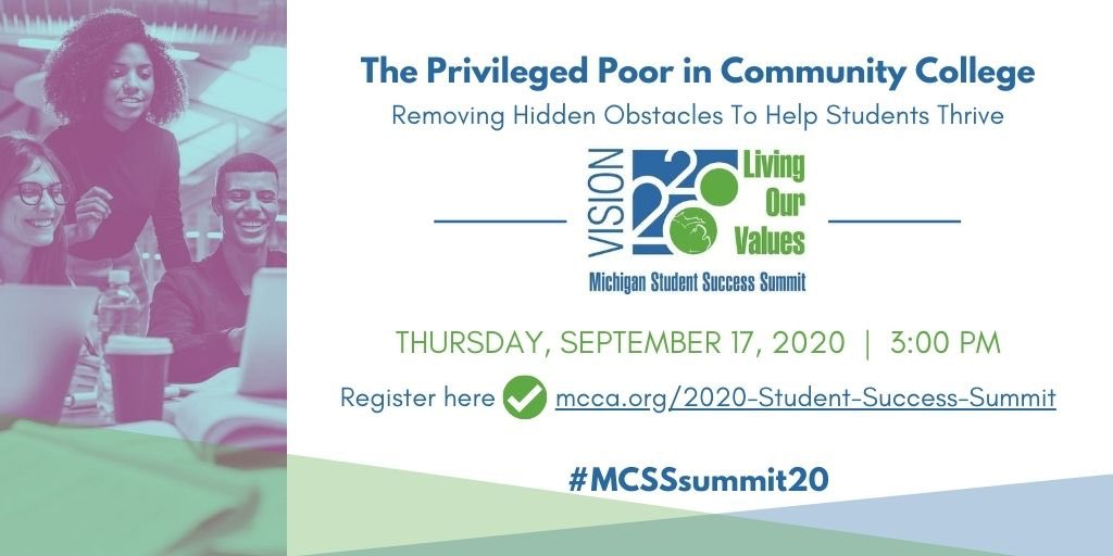 TODAY!! Join @tony_jack along with @PMillerBiz, @onomatopriya and a panel of leaders from @micolleges doing #mibestcc for #mistudentsuccess at #MCSSsummit20 at 3:00 pm. https://t.co/rHKOuev1hq