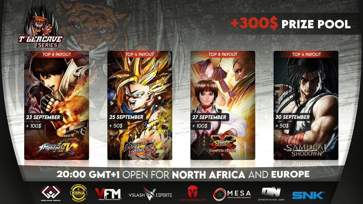 Announcement: We are supporting this online tournament via our e-sports support program! #SNK #KOFXIV #SAMURAISHODOWN  KOF XIV : https://t.co/g1qQwdHyRv SAMURAI SHODOWN : https://t.co/8lWAdRCbqD  https://t.co/E1GHjN1L6X https://t.co/CnbradXKjA