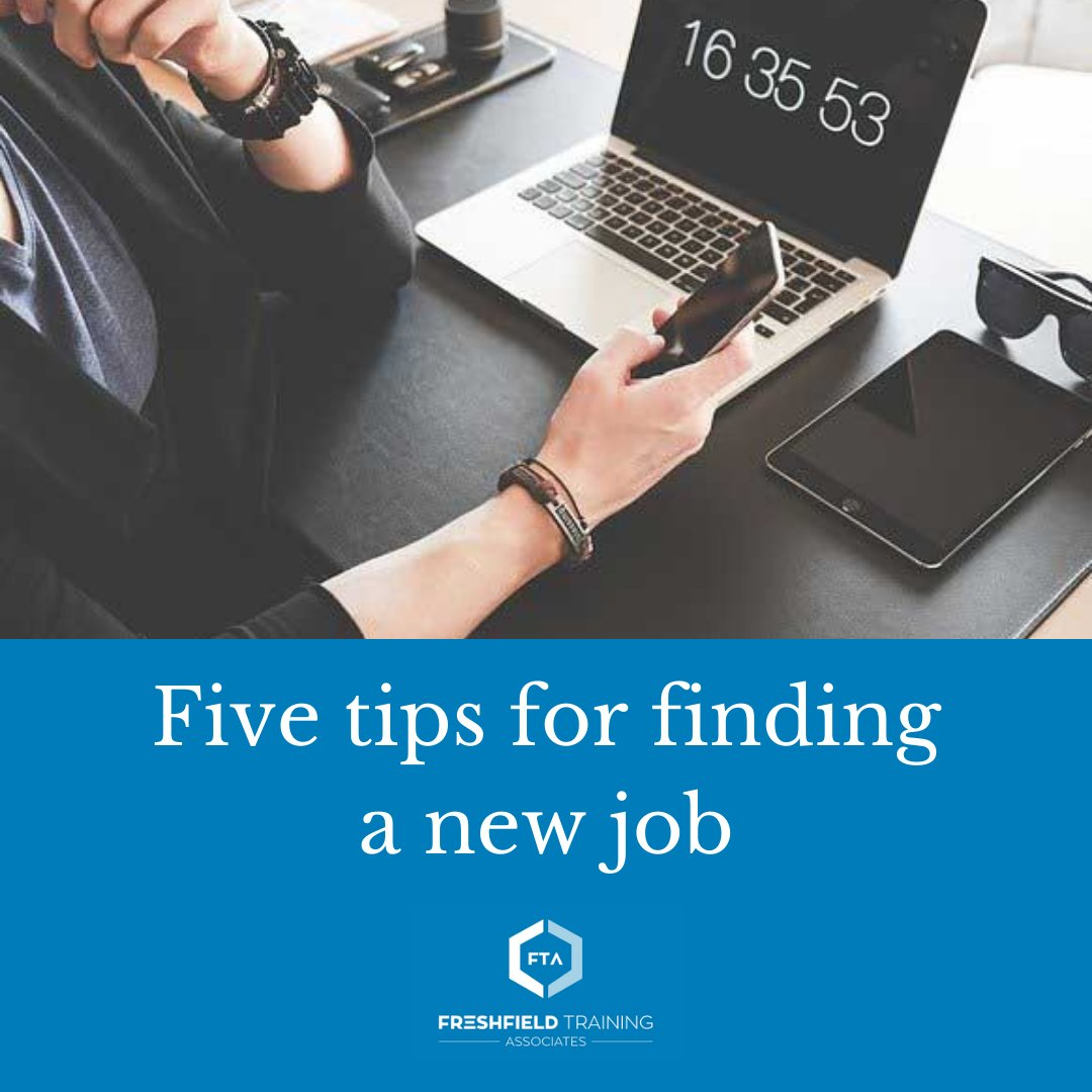Here are five tips for finding a new job.  Read more: https://t.co/l6soH63XkP https://t.co/piCgzLqhRN