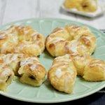 桃缶やあんこなどで試してもOK!パイナップル缶とパイシートで作る「パインパイ」の作り方!