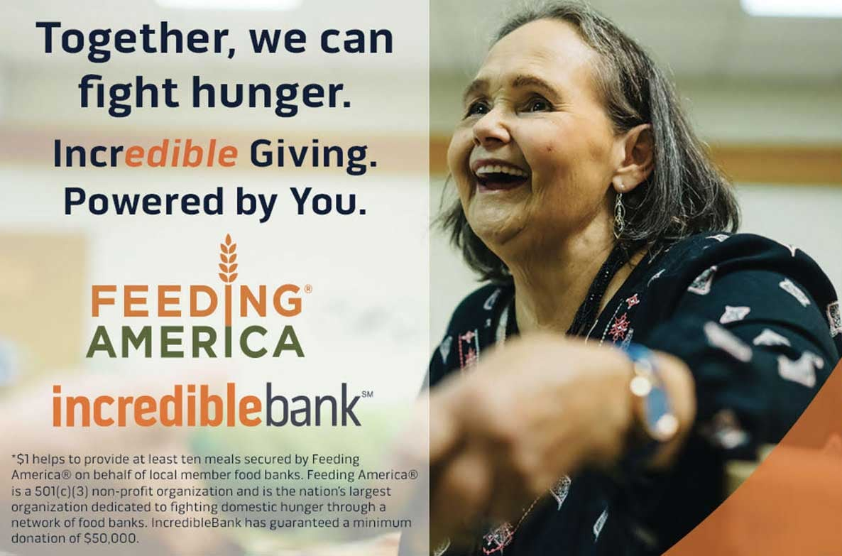 You're incredible. In 2020, we have already donated 240,500 meals. With your next loan, you can help feed families in need. We're donating 500 meals* to Feeding America® for every eligible home, business, SBA & motor coach loan thru 2020: Learn more here: https://t.co/OHnvJYDWMJ https://t.co/xrQd3Fw609