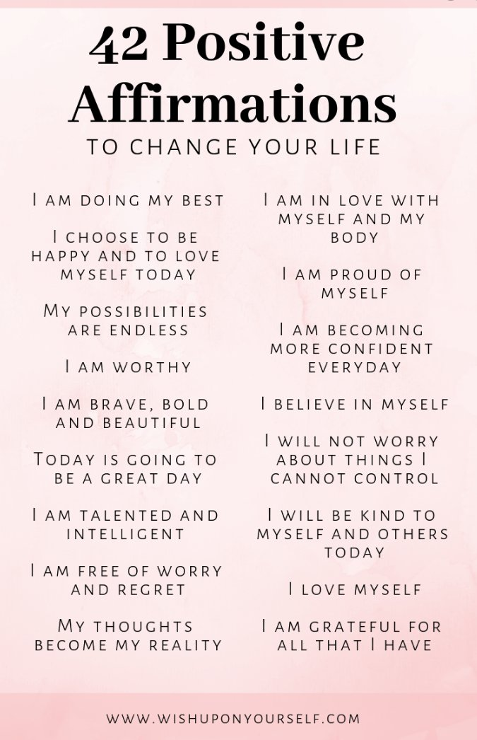 https://t.co/35Ww7SRAJP A page to share positive affirmation - something for everyday https://t.co/E7JToX94Aw