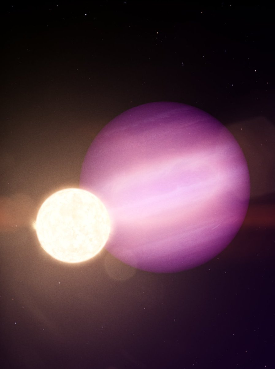 Astronomers find what may be the first intact planet closely orbiting a white dwarf, the dense leftover of a Sun-like star. 🔭➡️ https://t.co/J6Hfm9VIh1 https://t.co/GD0czHex0A