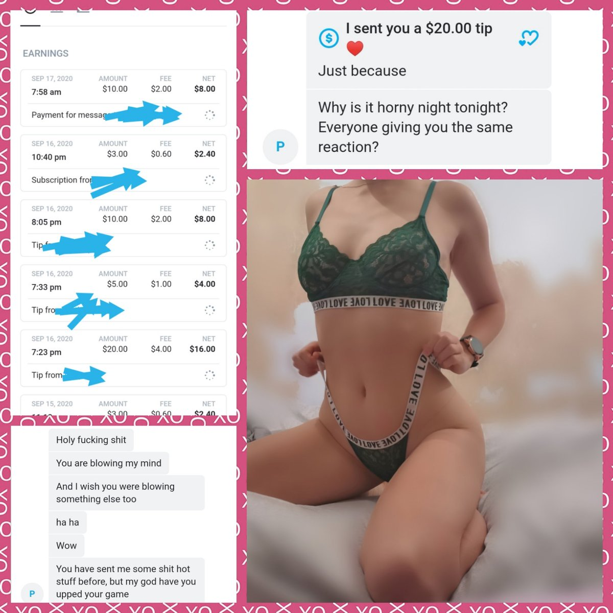 Tips, tips, tips 😍😍 Thats what I like to see, and alllll the appreciation 😍😍 Come see what all the fuss is about 😜 stars.avn.com/allnaturalesse… onlyfans.com/allnaturalessex