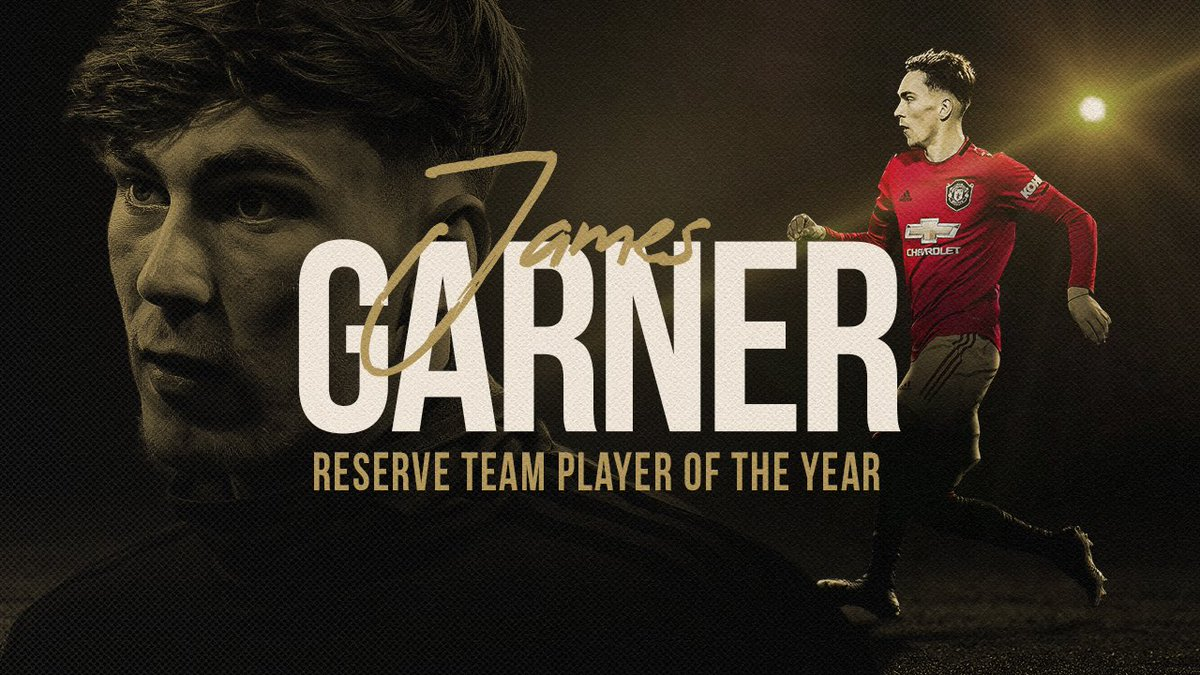 A huge well done to @JGarnerr96, who has been named our 2019/20 𝗗𝗲𝗻𝘇𝗶𝗹 𝗛𝗮𝗿𝗼𝘂𝗻 𝗥𝗲𝘀𝗲𝗿𝘃𝗲 𝗧𝗲𝗮𝗺 𝗣𝗹𝗮𝘆𝗲𝗿 𝗼𝗳 𝘁𝗵𝗲 𝗬𝗲𝗮𝗿! 👏 #MUFC #MUAcademy