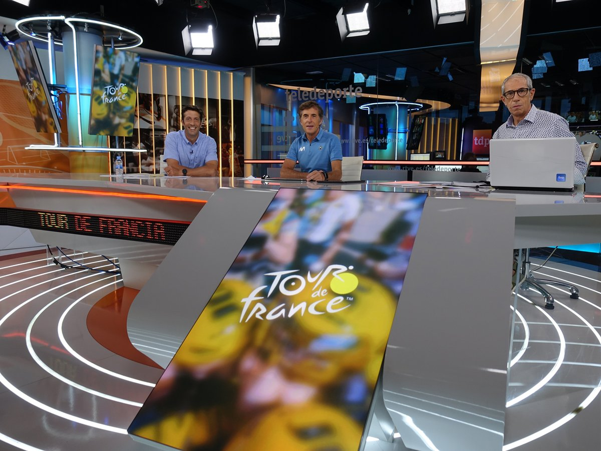 Última etapa alpina del #TDF2020 en @teledeporte con Juan Antonio Flecha (@FlechaExtra) Momento cumbre, el Plateau des Glières con terreno sin asfaltar y con aviso de lluvia. Lo veremos en @La1_tve a partir 16h #TourRTVE17S #RodamosJuntos MULTISEÑAL: https://t.co/j5zFSSBCM5 https://t.co/oC8cO0R7Ru