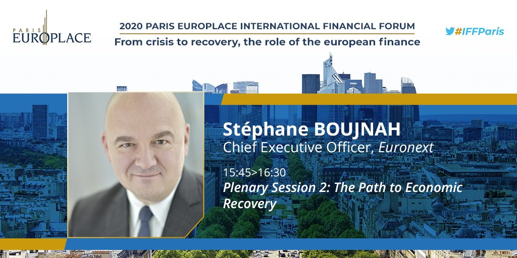 🇪🇺 Join our CEO Stéphane Boujnah and many other talented speakers on October 7 for @europlace's #IFFParis where we will be discussing the role of European #finance in the recovery 🔗https://t.co/UiYGDIRLR1 https://t.co/jEkgU0wYst