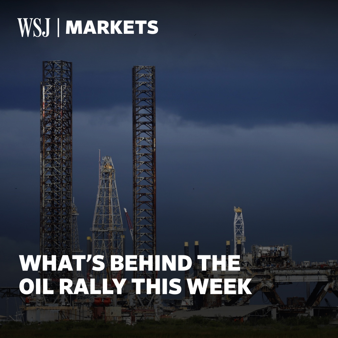 Oil prices rose this week after a slump. @davidhodari explains what's driving prices up. #WSJWhatsNow