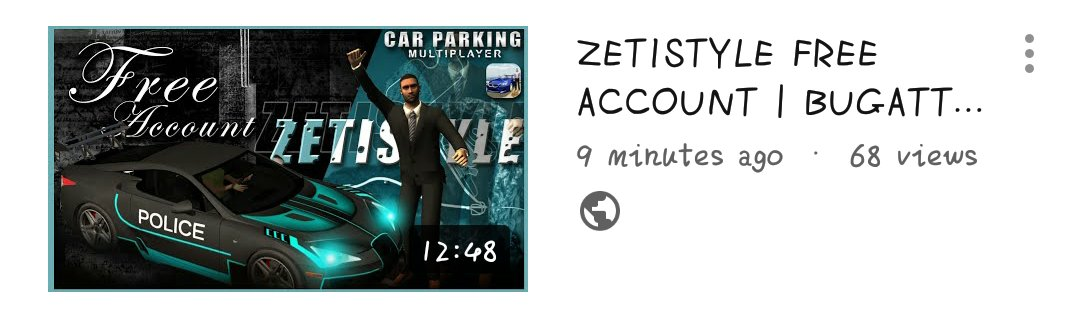Car Parking Multiplayer 📌 | zeti • free account (4) • #CarParkingMultiplayer #CPM #Gaming #Gameplay #Game #Openhood #Livery #Widebody #LibertyWalk #Tutorial #RustyDecals #YouTuber #YoutubeGaming #zeti #FreeAccount https://t.co/fmIkbT68GN