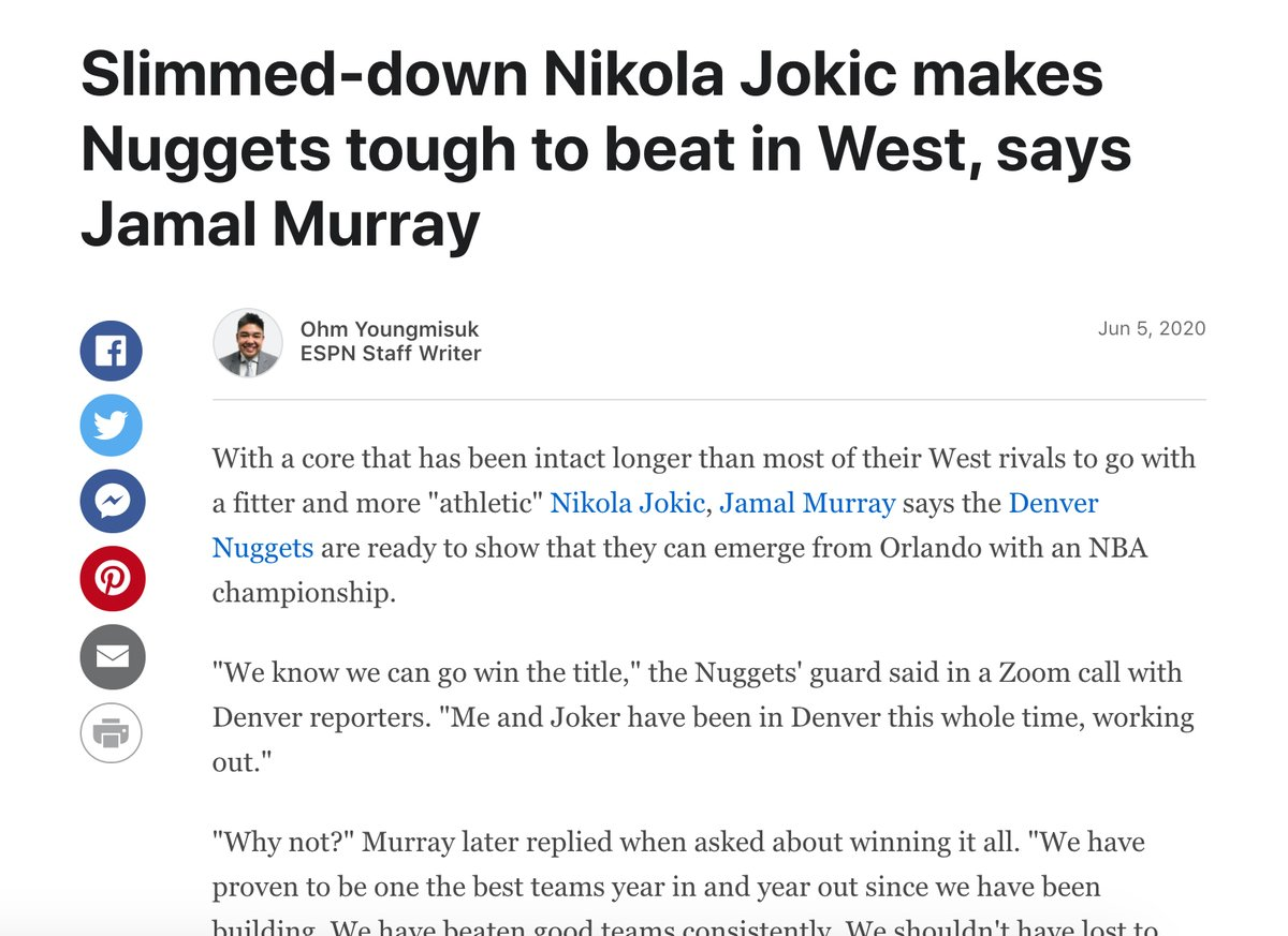 RT @jeskeets: I keep thinkin' of this Jamal Murray quote from June: