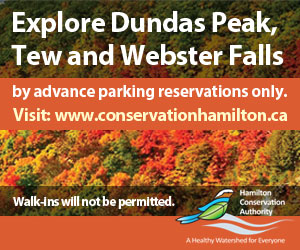 Thinking of coming to explore #DundasPeak #TewFalls or #WebsterFalls ? You must make a reservation in advance. No walk-ins or drive ups will be permitted without an advanced reservation.  Make your reservation up to a week in advance of your visit.   https://t.co/d3tB8VGC75 https://t.co/G9R8EpvLST