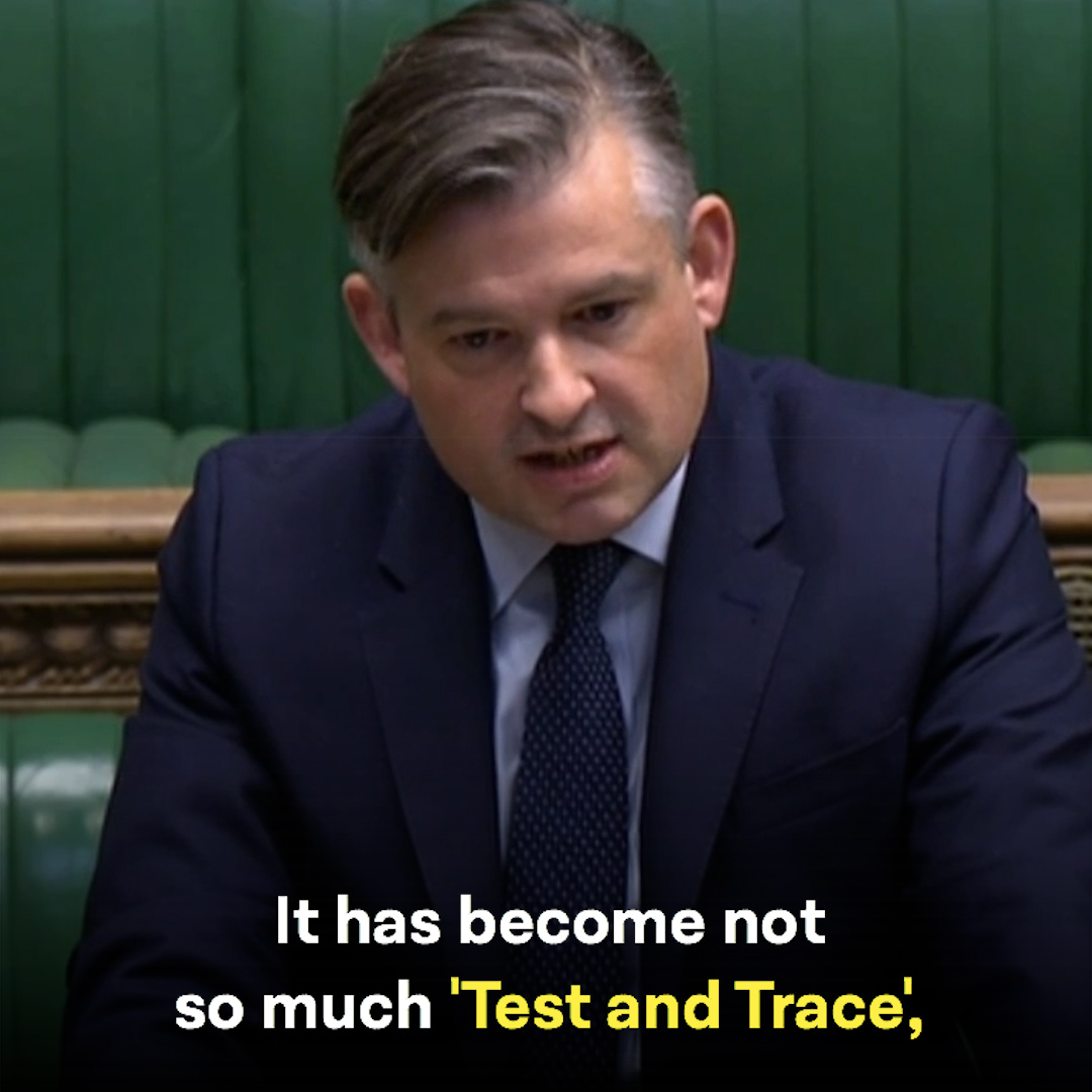 It's no longer 'Test and Trace' and more like 'Trace a Test'.