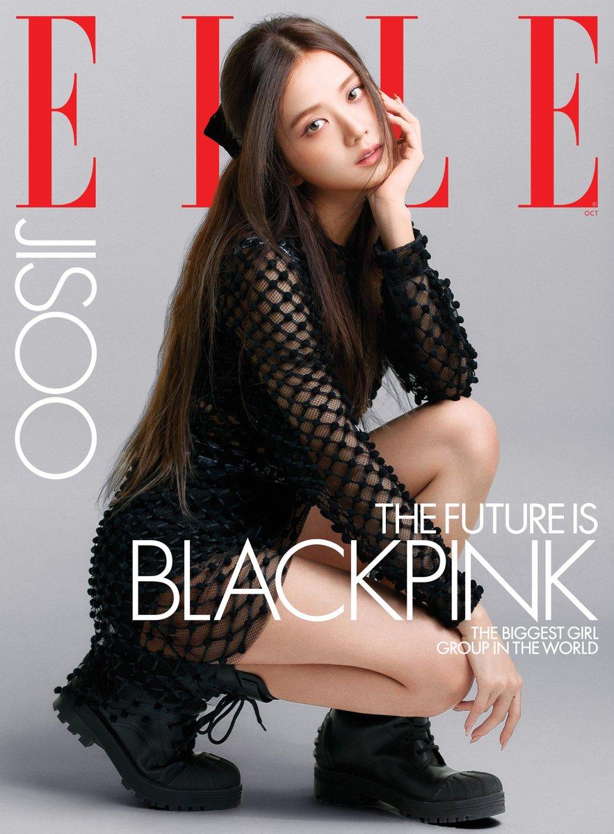 #광고 #JISOO is on the cover of ELLE US! Head to @ellemagazine at 8AM EST to see the group cover. https://t.co/DjHVmxaDkv