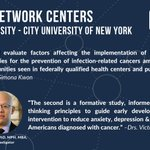 Image for the Tweet beginning: #CPCRN investigators at NYU-CUNY are